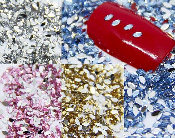 Micro Navete 1.5 x 3mm 20 peças