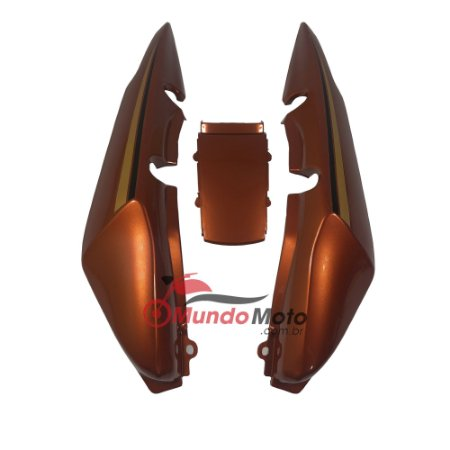 Rabeta Completa Adesivada Titan 150 2007 Laranja - Sportive