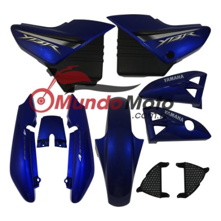 Kit Carenagem Adesivada Yamaha Ybr 125 2008 Azul - Sportive