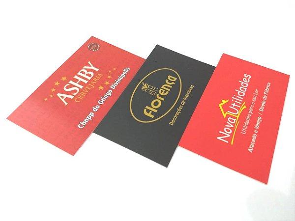 Cartão Fosco