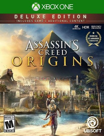 Assassin's Creed Origins Deluxe Edition Xbox One - 25 Dígitos