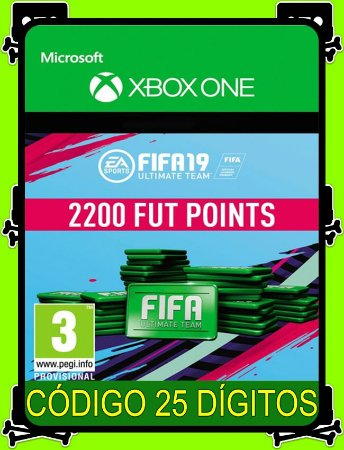 2200 Fifa Points 2019 Xbox One - 25 Dígitos