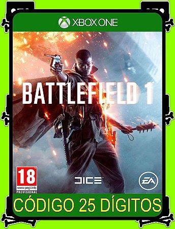Battlefield 1 Xbox One - 25 Dígitos