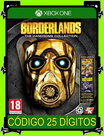 Borderlands The Handsome Collection Xbox One - 25 Dígitos