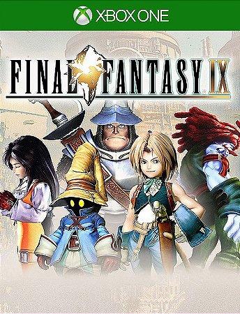 Final Fantasy Ix Xbox One - 25 Dígitos