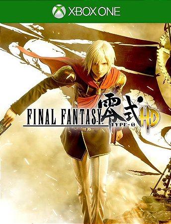 Final Fantasy Type-0 Hd Xbox One - 25 Dígitos