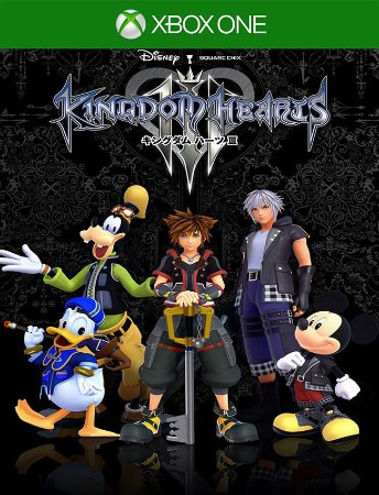 Kingdom Hearts 3 Xbox One - 25 Dígitos