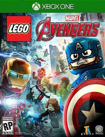 Lego Marvels Vingadores Xbox One - 25 Digitos
