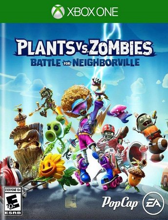 Plants vs. Zombies: Batalha por Neighborville Xbox One - 25 Dígitos