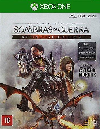Terra Média Sombras Da Guerra Definitive Edition