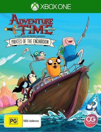 Adventure Time Pirates Enchiridion Xbox One - 25 Dígtos