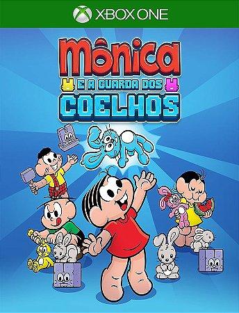 Monica E A Guarda Dos Coelhos Xbox - 25 Digitos