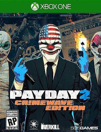 Payday 2 Crimewave Xbox One - 25 Dígitos