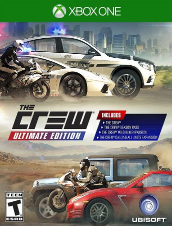 The Crew Ultimate Xbox One - 25 Dígitos