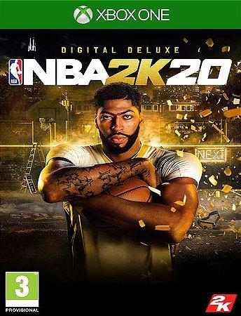 Nba 2k20 Deluxe Xbox One - 25 Dígitos