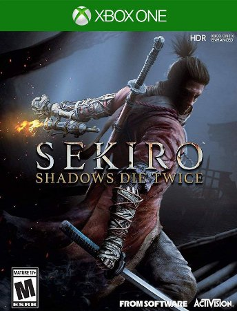 Sekiro Shadows Die Twice Xbox One - 25 Dígitos