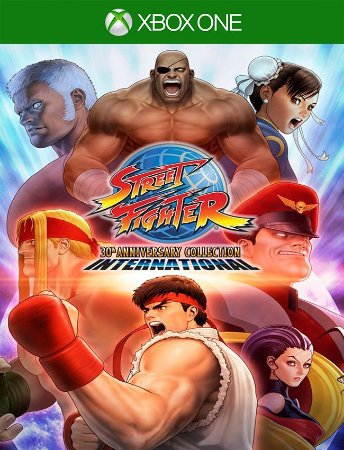 Street Fighter 30th Anniversary Xbox - 25 Digitos