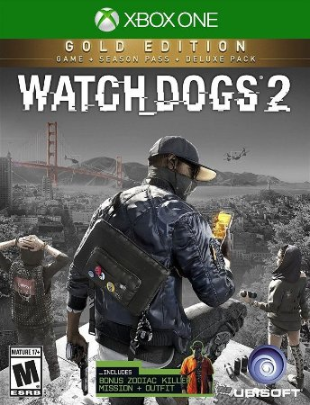 Watch Dogs 2 Gold Edition Xbox One - 25 Dígitos