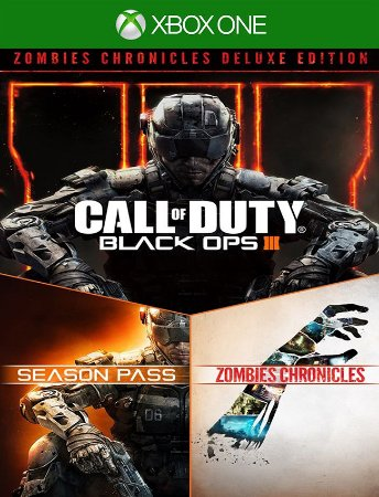 Call Of Duty Black Ops 3 Zombies Deluxe Xbox One - 25 Digitos