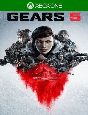 Gears 5 Xbox One - 25 Dígitos