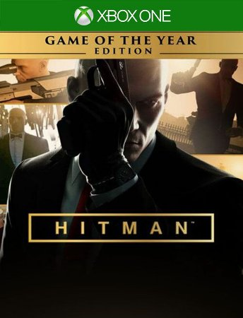 Hitman Goty Xbox One - 25 Dígitos