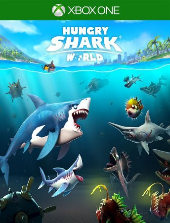 Hungry Shark World Xbox - 25 Dígitos