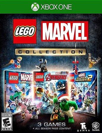 Lego Coleção Marvel Xbox - 25 Digitos