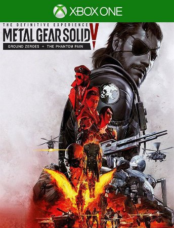 Metal Gear Solid V Definitive Xbox - 25 Dígitos