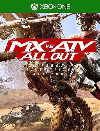 Mx Vs Atv All Out Xbox One - 25 Dígitos