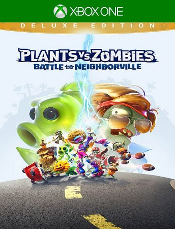 Plants Vs Zombies Neighborville Deluxe Xbox One - 25 Dígitos