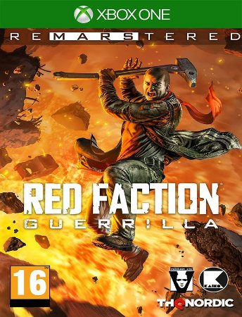 Red Faction Guerrilla Remarsterd Xbox - 25 Dígitos