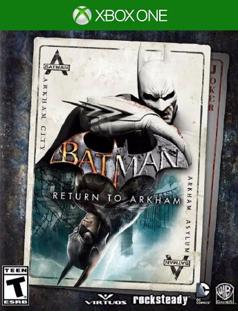 Batman Return To Arkham - Xbox One 25 Dígitos