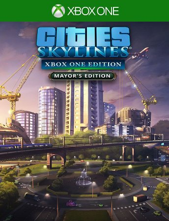 Cities Skylines Mayors - Xbox One 25 Dígitos