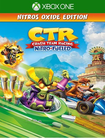 Crash Team Racing Nitro-fueled Nitros Oxide - Xbox One 25 Digitos