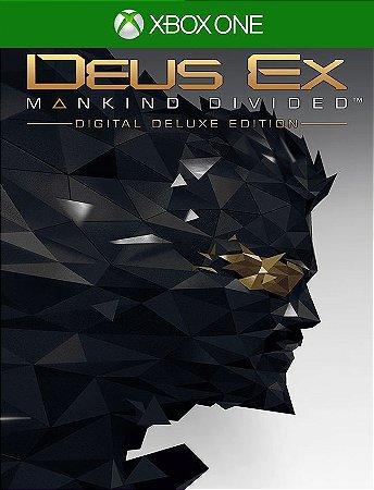 Deus Ex Mankind Divided Deluxe - Xbox One 25 Dígitos