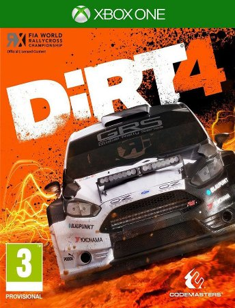 Dirt 4 - Xbox One 25 Dígitos