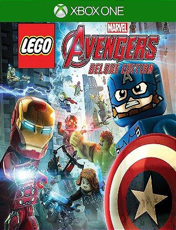 Lego Marvels Vingadores Deluxe Xbox - 25 Dígitos