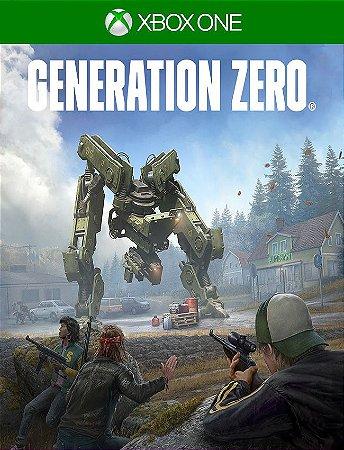 Generation Zero - Xbox One 25 Dígitos