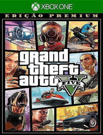 Grand Theft Auto V: Edição Premium - Xbox One 25 Dígitos