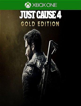 Just Cause 4 Edição Gold - Xbox One 25 Dígitos