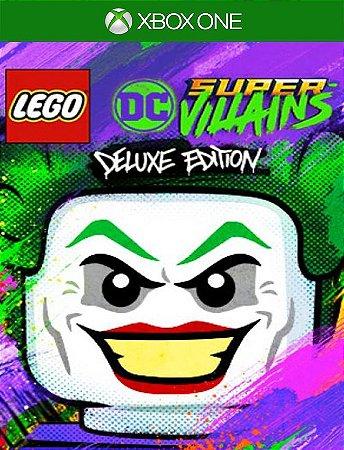 Lego Dc Super-villains Deluxe Xbox - 25 Digitos