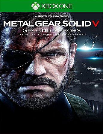 Metal Gear Solid V Ground Zeroes - Xbox One 25 Digitos