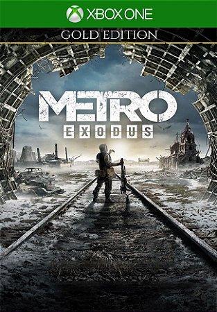 Metro Exodus Gold Edition - Xbox one 25 Dígitos