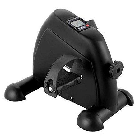 Mini bicicleta com monitor preta 55555504