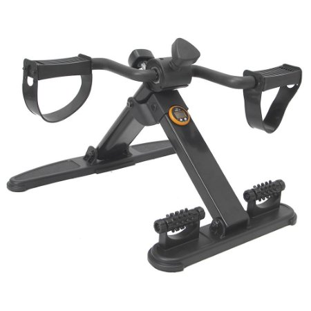 Mini bicicleta dobrável com monitor e massageador 55555033