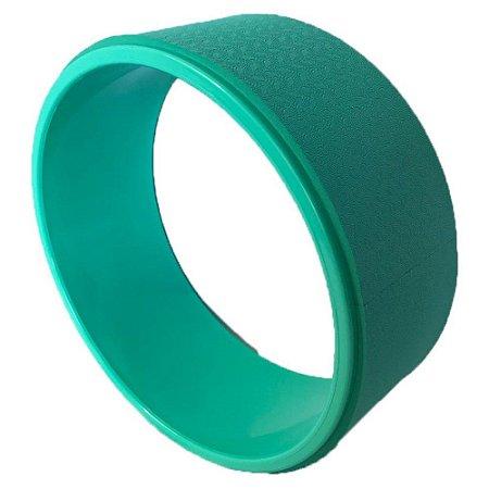 Roda de yoga verde 40408034