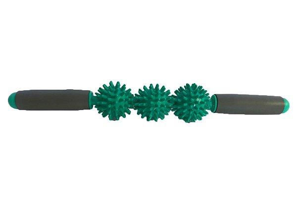Bastão de massagem e liberação miofascial - Verde 40408001