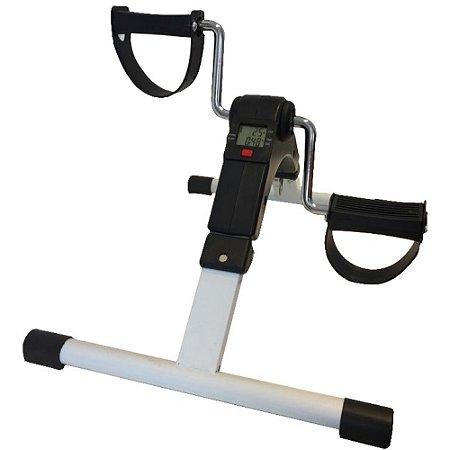 Mini bicicleta dobrável com monitor preta 60820