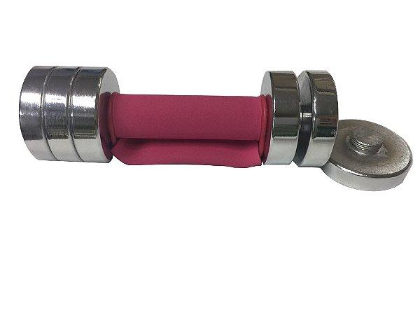 Kit de 2 halteres ajustáveis de 2,5 kgs 9000042