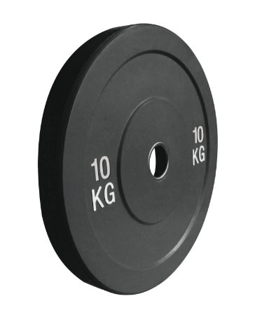 Anilha de ferro fundido Bumper Plate 10kg 10100110